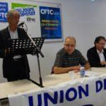 Congrès de l'UD CFTC de l'Ain - 23/09/2011 - P. LOUIS, Pdt CFTC