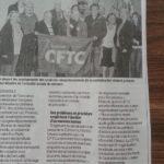 Congrès de la CFTC 38 - article du Dauphiné Libéré
