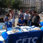 Journée de la Famille - Place Antonin Jutard - Lyon - 19 juin 2013 - l'équipe CFTC