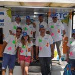 Point bleu et Caravane CFTC - Tour de France 2013